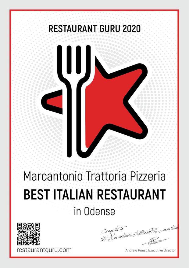 Bedste italienske restaurant odense