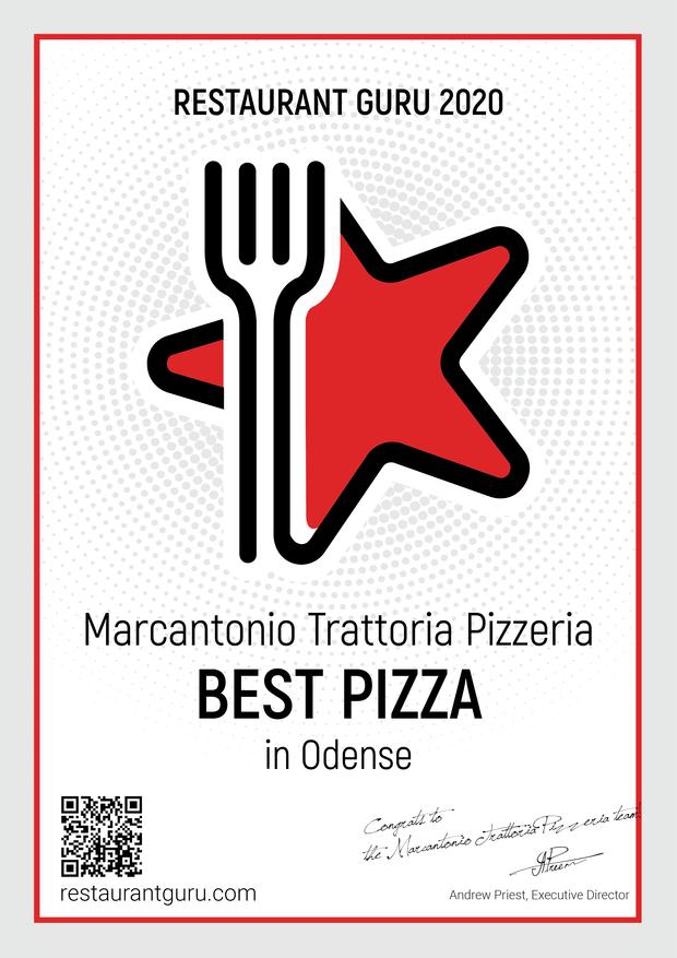 Bedste pizza odense 2020